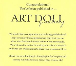 Art Doll Quarterly
