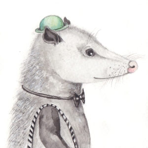 The Black Tie Opossum, 3 1/2
