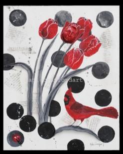 Tulips Cardinal