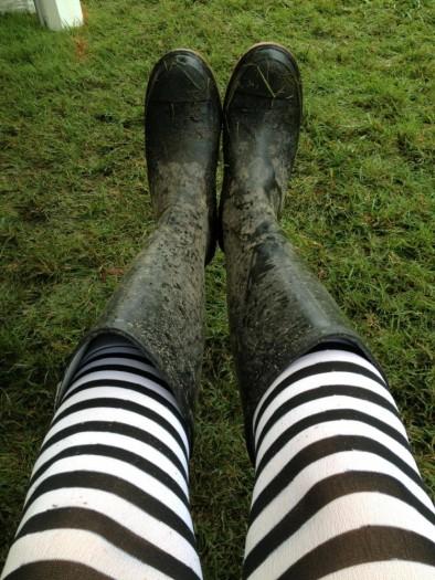 Very muddy show!!