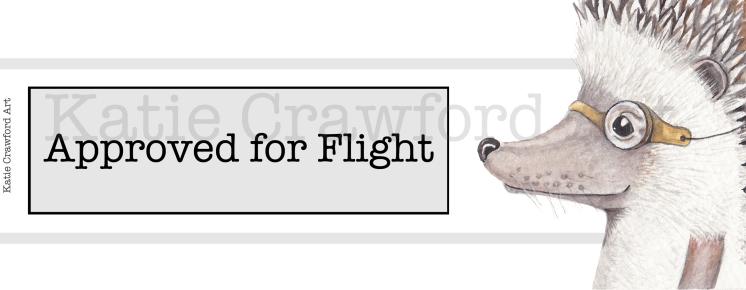 Approved For Flight Hedgehog