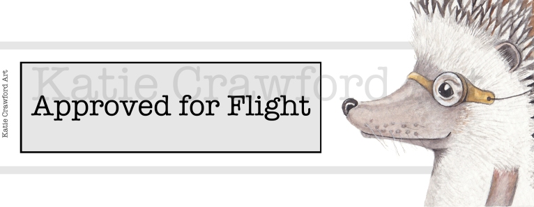 Approved For Flight Hedgehog