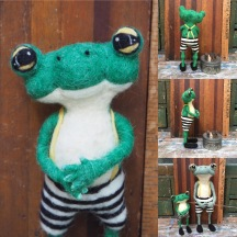 Felt Frogs, who already have homes.