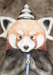 Masquerade Red Panda
